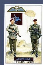 #GWS/M164 Para 90, The Golden Jubilee Of Airborne Forces - Military Postcard