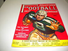 1937 FOOTBALL ILLUSTRATED ANNUAL , NICE !!