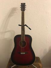 Vintage Dreadnought Solid Top Acoustic Guitar V501 BGB [SITKA SATIN]