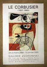 Le Corbusier Original Offset Lithograph Galerie Zlotowski 2005