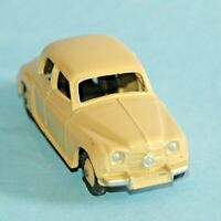 DINKY Meccano England original 1954 ROVER 75 Sedan #156 Cream body and hubs