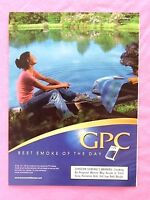 1999 Magazine Advertisement Page Featuring GPC Cigarettes Woman By Water Ad