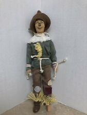 The Wizard of Oz 50th Anniversary Multi Toys 1988 SCARECROW Doll / Figure -12in