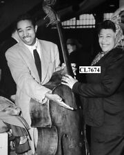 Ella Fitzgerald with Her Husband Bassist Ray Brown Photo