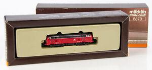 Vintage Marklin Mini-Club 8879 German Z Scale Diesel Locomotive DB 218 104-8