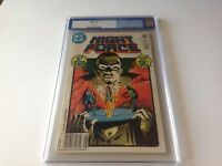 NIGHT FORCE 1 CGC 9.6 OFF WHITE PAGES MARV WOLFMAN CGC OLD BLUE LABEL DC COMICS