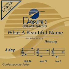 Hillsong - What A Beautiful Name - Accompaniment/Performance Track – New CD