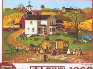 Bob Pettes  Masterpieces EZGrip  Puzzle 1000 Pc The Travelling Man NIB