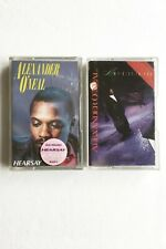ALEXANDER O'NEAL x2 HEARSAY & MY GIFT TO YOU Cassette CRITICIZE, CHRISTMAS SONG