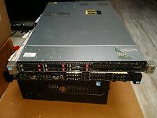 HP PROLIANT DL360P G8 Gen8 SERVER 2 x E5-2670 Eight cores 64GB 6 x 146gb 15k HDD