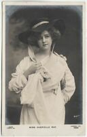 GABRIELLE RAY - Edwardian Actress - 1906 used real photo postcard