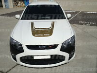 "FORD FG Mk1 GT FALCON "" Bonnet Decal / Sticker "" BOSS 315 290"