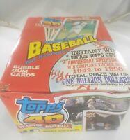 1991 Topps Baseball 40 Years Of Baseball Wax Box 36 Packs 15 Cards Per Pack