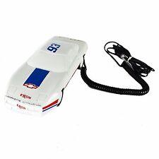 CORVETTE Car Phone Vintage Button 1980 Electric White Home Telephone Exxon