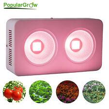 300W LED Grow COB Light Hydro Plant Veg Flower Lamp Full Spectrum Panel Indoor