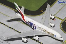 Emirates Airbus A380-800 A6-EOT PSG France 1/400 scale diecast GeminiJets