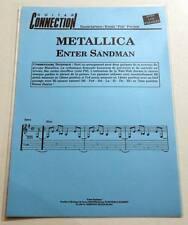 Partition sheet music METALLICA : Enter Sandman * 80's Guitar / Guitare