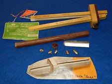 ancien vintage GOLDENBERG TRUSQUIN de LUXE en BOIS wood tool MENUISIER outils