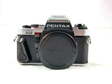 Pentax Program Plus 35mm Slr Film Camera Body Only Tested Excellent Condition