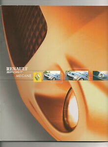 CATALOGUES  RENAULT SPORT MEGANE RS 2004