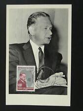 Peace nobel prize Dag Hammarskjold (Sweden) UNO maximum card 1962 Congo 86176