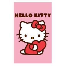 Sanrio Hello Kitty Xl Tappeto/Zerbino/tappeto/Scendibagno / opaco NUOVO 80x50 cm
