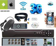 AHD DVR NVR 8 CH Canali Video SORVEGLIANZA 5 1080P AHD IP  P2P