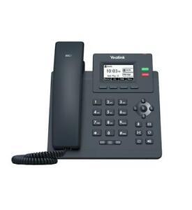Yealink SIP-T31P - Entry Level Gigabit POE 2-Line HD Voice - 1 Year Warranty