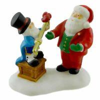 "Dept 56 ""Key To The North Pole"" Village  Santa Mayor #56857 Heritage NOS"