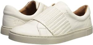 NEW IN BOX! Frye Women's White Ivy Gore Slip Ons Leather Sneaker Cute & Comfy 10