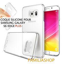 Housse coque transparent gel silicone souple samsung galaxy S6 edge PLUS