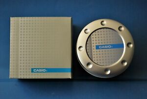 VINTAGE CASIO/JAPAN ORIGINAL METAL WATCH BOX FROM THE 80s. NOS!