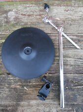 Roland CY-12C Electronic Crash Cymbal & Mount CY12 Exc Condition