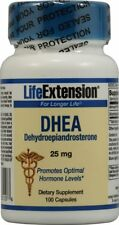DHEA, Life Extension, 100 capsule 25 mg