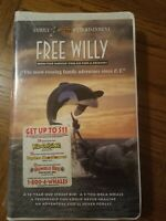 Free Willy VHS Brand New Clam Shell Case 1993 Adventure drama Family Free Ship