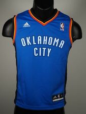 Adidas Oklahoma City Thunder official NBA Youth Jersey New With Tags