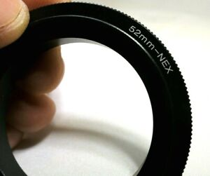 52mm Macro Close-Up Reverse Lens Adapter Ring For Sony E-Mount ILCE camera α6300