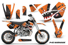 Graphics Kit Decal Sticker Wrap + # Plates For KTM SX65 SX 65 2002-2008 WARHWK O