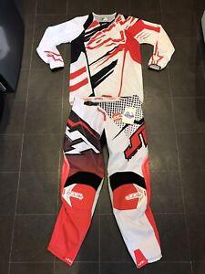 "**NEW** ALPINESTARS / JT Motocross, MX, Motorcross Kit. Medium Jersey, 36"" Pants"