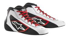 Go Kart Alpinestars Tech-1 K Start Boot Bianco/nero/rosso adulto UK 7