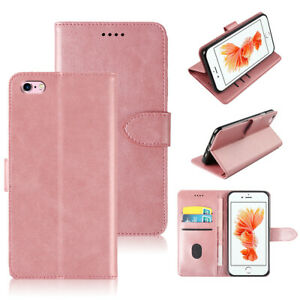 For iPhone SE 2nd Gen 2020 Magnetic Leather Wallet Flip Stand Phone Case Cover