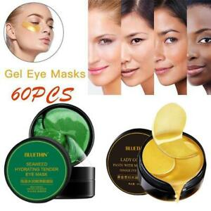 60xGreen Seaweed Collagen Eye Gel Patches Anti-Wrinkle Dark Circle Eye Mask