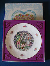 Royal Doulton Collectable Plate - Valentines Day - 1982 - In Original Box