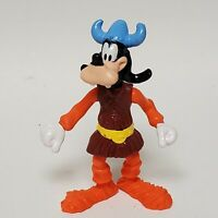 """Disney's Goofy 4"""" Articulated Norway Viking Action Figure Epcot Center 1993"""