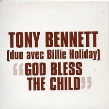 CD single Tony Bennett & Billie Holiday	God bless the child - French Promo 1-tr