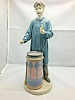 Lladro Man with Pipe 1983 figurine retired