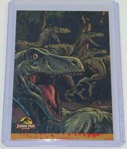 1992 Topps Comics Jurassic Park Raptor #4 Promo Comic Card