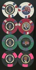 4 DONALD TRUMP 2020 Poker Chip Set Campaign Limited Fake News 45 Corona POTUS