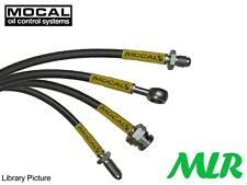 MOCAL AUSTIN ROVER CLASSIC MINI STAINLESS STEEL BRAIDED BRAKE LINES HOSES PIPES