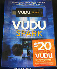 VUDU Spark HDMI Streaming Media Player. Brand New and sealed. 25 available
